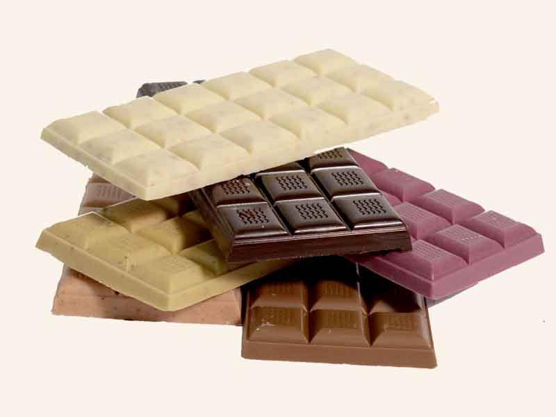 6 טבלאות שוקולד מהמבחר של היער